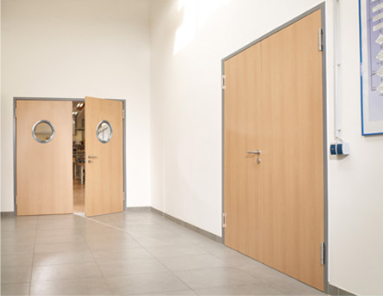 Installation of Commercial and Industrial Doors and Frames