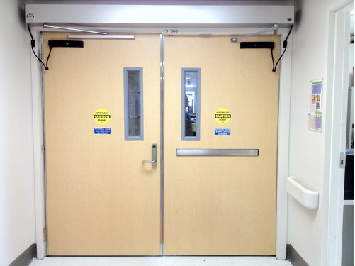 Installation And Frame Modifications For Stainless Steel Doors